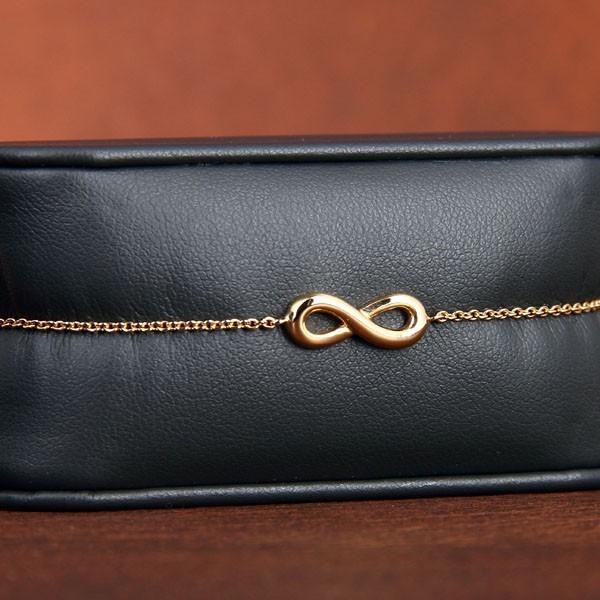 bracelet infini or. Black Bedroom Furniture Sets. Home Design Ideas