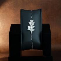Bracelet Avoriaz en argent et zirconium