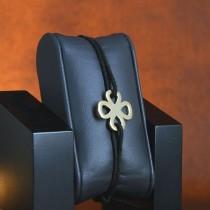 Bracelet trèfle quatre feuilles plaqué or