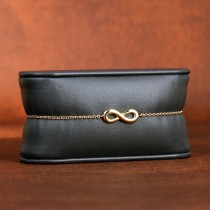 Bracelet infini plaqué or