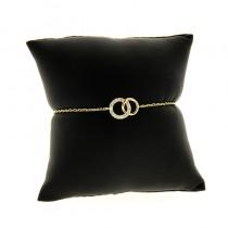 bracelet plaqué or ludik