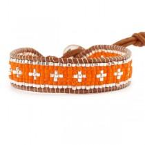 bracelet-perles-cuir-cactus