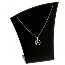 bijoux collier plaqué or gold peace
