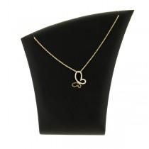 collier pendentif plaqué or lior