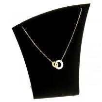 collier pendentif  plaqué or