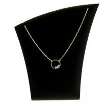 collier pendentif plaqué or melinda