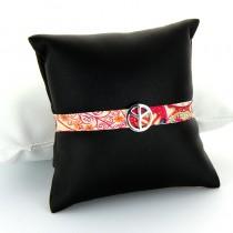 Bracelet tissuTendance Peace