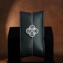 Bracelet argent et zirconium Jacinthes