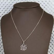 collier argent ibiza